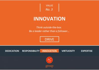 Value 3 - Innovation