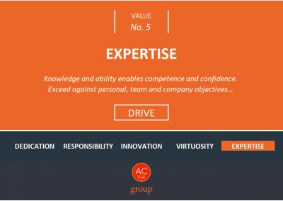 Value 5 - Expertise